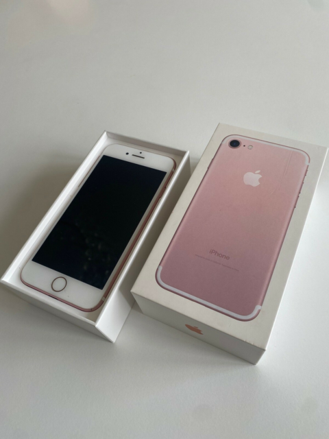 iPhone 7, 32 GB, pink, Perfekt, Super flot stand. Original…