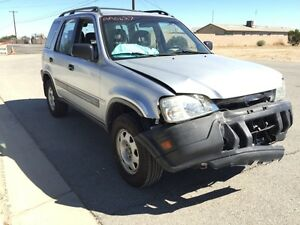 1999 honda crv wrecked rebuildable salvage 203k hit front for 1999 honda crv window motor replacement
