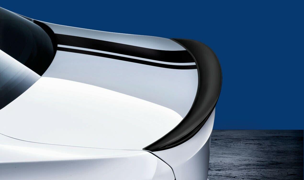 BMW Genuine Rear Trunk Spoiler Black Matt 3 Series F30 F80 M3 LCI 51192349678