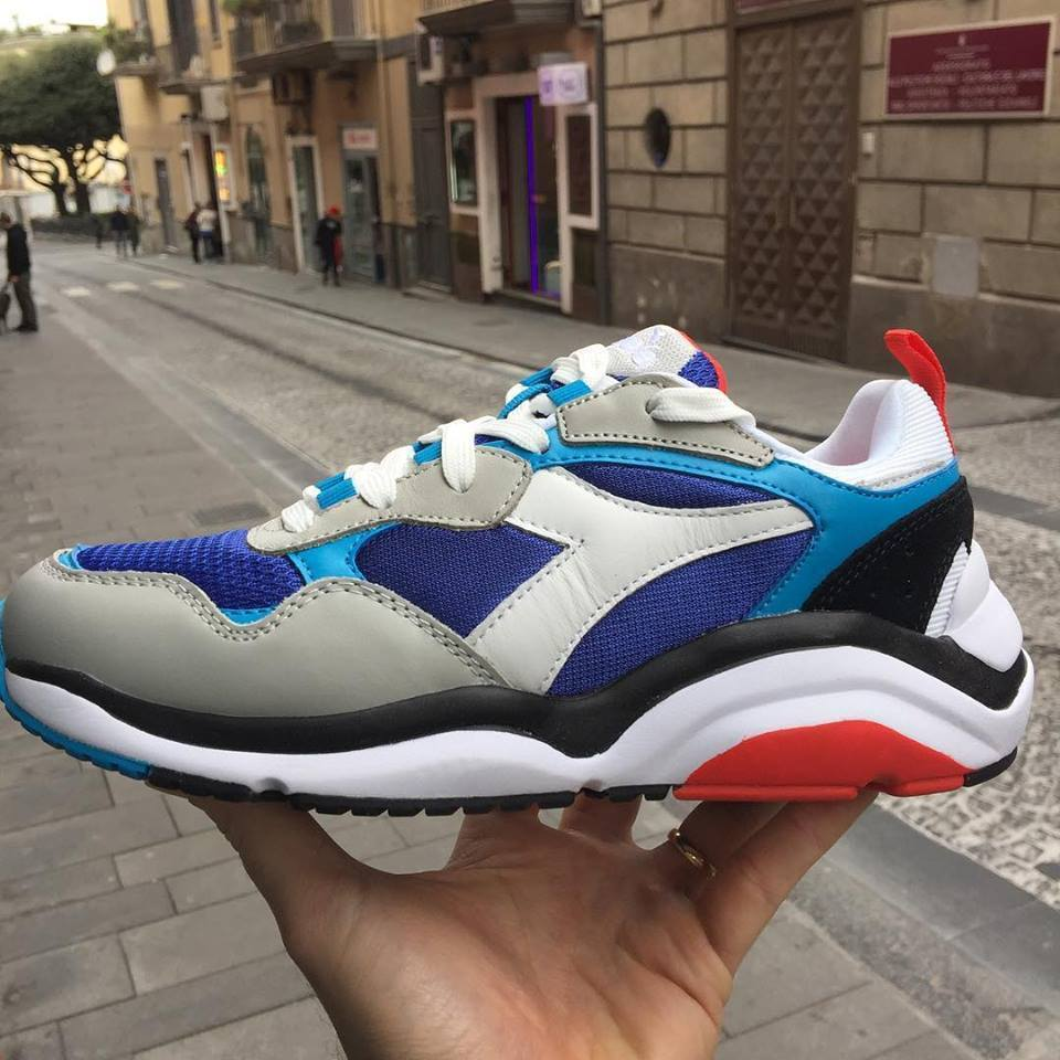 shoes Diadora Diadora Diadora  Whizz Run Scarpa modello Balenciaga multicolor estate 2019 New a000f2