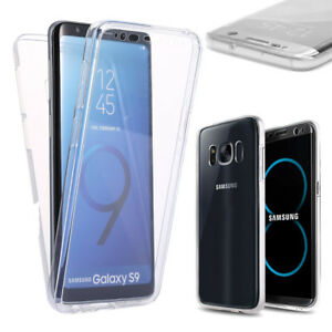 Coque-Etui-Housse-360-Clear-FULL-TPU-Gel-Silicone-Tactile-Samsung-S7-S8-PLUS-S9