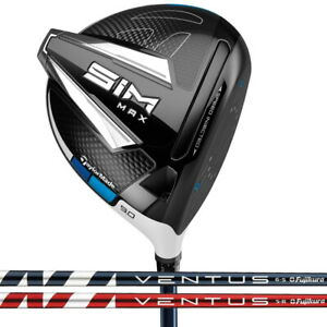New 2020 TaylorMade SIM MAX Driver - Choose Your Hand, Loft, Flex, and Shaft