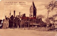 pre-1907 C. M. and ST. P. DEPOT, MILWAUKEE, WIS.