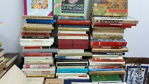 Lotto-di-72-libri-Antichi-Vintage-vario-genere-foto-reali
