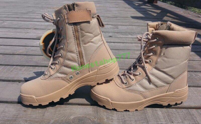 Mens Special Forces Militärstiefeletten Army Tactical Tactical Tactical Combat Arbeitsschuhe 45 44    | Verkauf  96085e