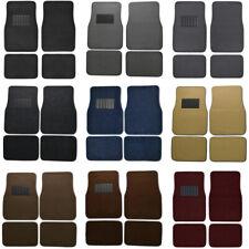 Car Floor Mats For Sedan Amp Suv 4 Piece Carpet Liner Vinyl Heel Pad Carpet Mat Fits 2012 Toyota Corolla