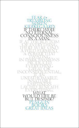 1 of 1 - Fear and Trembling (Penguin Great Ideas) by Soren Kierkegaard   Paperback Book  