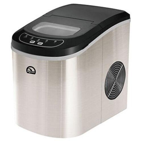 iGloo ICE105 portable Ice Maker Mini Machine Bar 26  ice per day Stainless Steel
