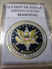 United States Marshals Service Challenge Coin