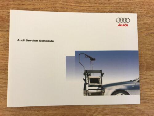 Service Audi Livre Authentique Neuf Pour Tous modèles essence et Diesel RS2 RS3 RS4