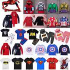 Marvel Hero Costume Kids Boys Girls Hoodie Sweatshirt Jumper T-shirt Top Outfits