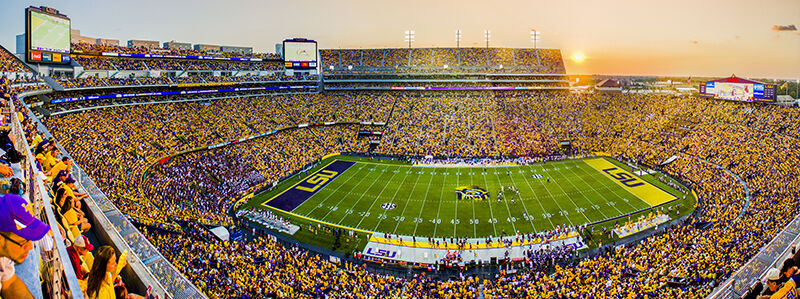 2018 LSU Tigers Football Season Tickets - Season Package (Includes Tickets for all Home Games)