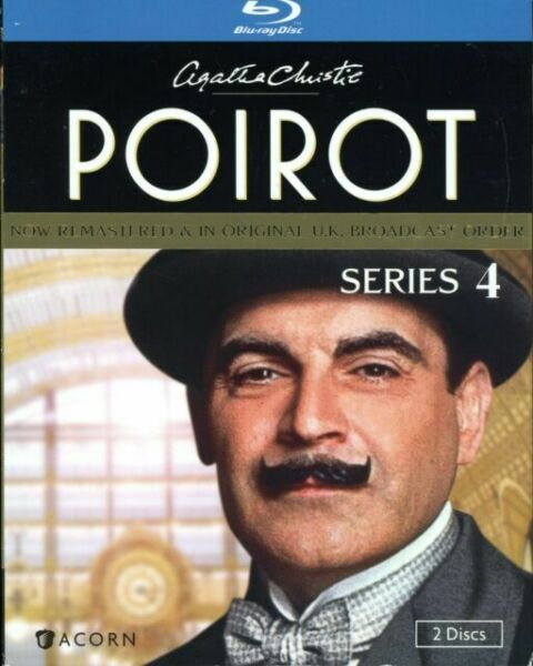 Agatha Christies Poirot Series 4 Blu Ray Disc 2012 2 Disc Set For Sale Online Ebay