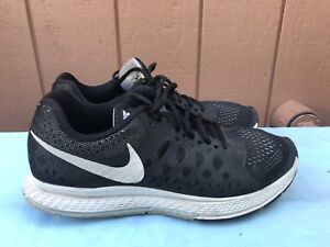 c849804069ebf NIKE AIR ZOOM PEGASUS 31 MEN S US 9.5 BLACK WHITE RUNNING SHOES ...