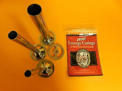 #22 size Kidney Sausage stuffing plate for meat grinder.