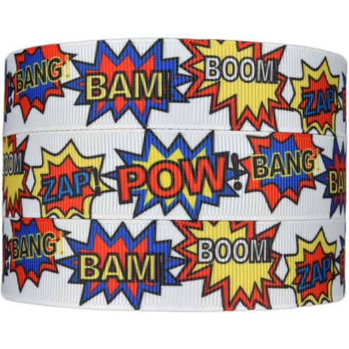 """7//8/"""" Hair Bow Party cake Dummy Clips Imprimé Cartoon Gros-Grain Ruban 22 mm"""