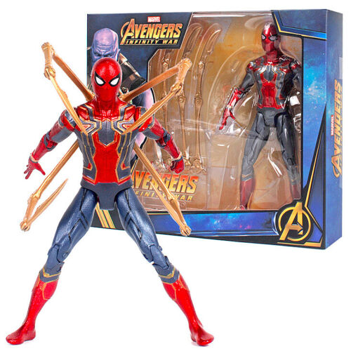 Avengers Infinity War Iron Spiderman Movable Joints 18cm Action Figure M021