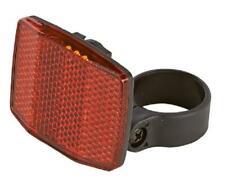 weiss Frontreflektor für Fahrrad etc 5,5x6,5cm AS101 Katzenauge Reflektor