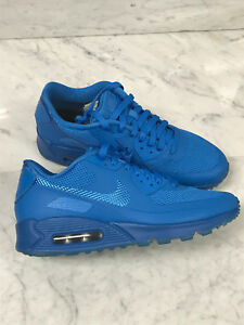 finest selection d807b a65fb Image is loading Nike-Air-Max-90-Blue-White-HYP-PRM-