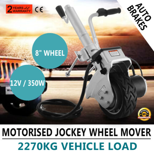 Rueda Del Remolque Caravan motorizados Jockey mover /& Abrazadera de aluminio 19cm con