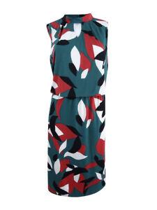 Nine-West-Women-039-s-Plus-Size-Keyhole-Sheath-Dress