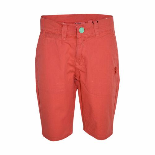 Kids Boys Short Orange Chino Shorts Summer Knee Length Half Pant New Age 2-13 Yr