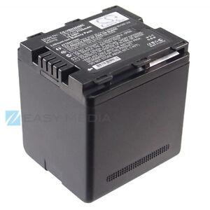 BATTERIA-PER-PANASONIC-VW-VBN260-HDC-TM900-HS900-SD900-SD800-2100mAh-7-4V
