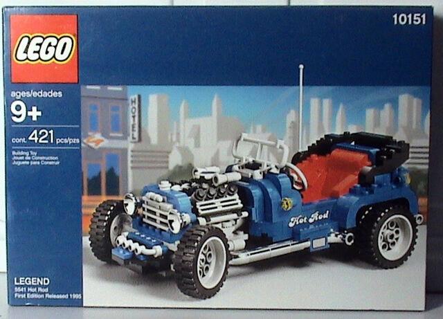 Lego Modello Squadra Leggende  10151 Hot Rod Nuovo Imballato