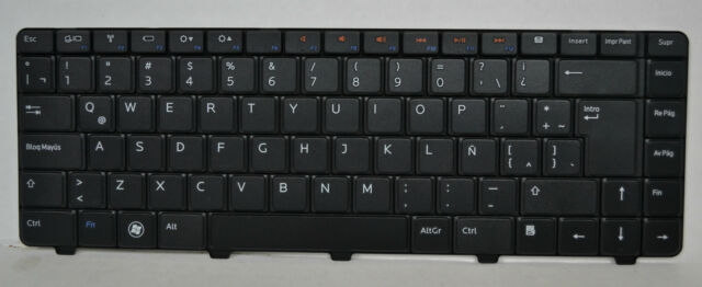 ANY SPARE KEY for Dell Inspiron M5040 N311z N4050 Spanish Keyboard Espanol Tecla