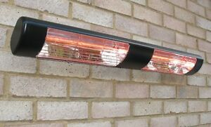 Image Is Loading Electric Infrared Halogen Patio Heater Wall Mounted Dual