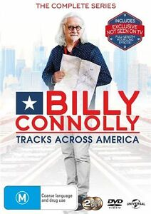 Billy-Connolly-Tracks-Across-America-The-Complete-Series-DVD-NEW-Region-4-Au