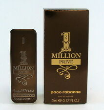 ONE MILLION PRIVE PACO RABANNE EAU DE PARFUM FOR MEN 5 ML. 0.17 FLOZ. NEW IN BOX