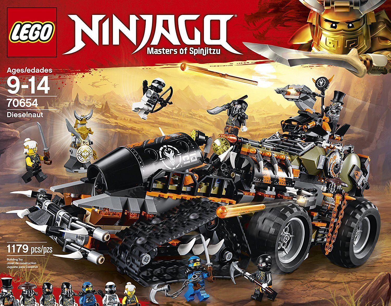 LEGO Ninjago 70654 draghi scatenala novità 2018, OVP