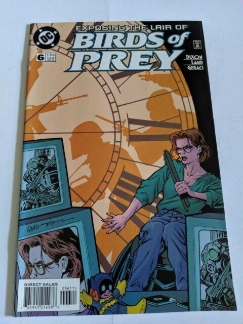 Birds Of Prey #6 June 1999 DC Comics Dixon Land Geraci