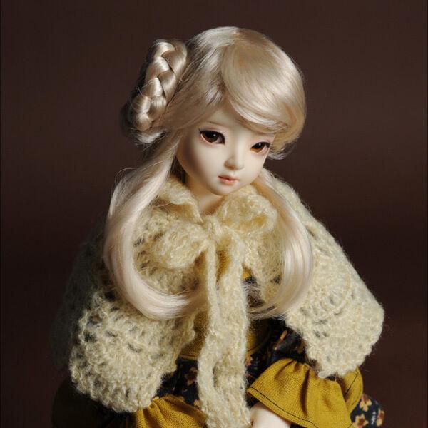 Dollmore 1//4 BJD OOAK doll clothes MSD SIZE Sarangkot Dress Ivory