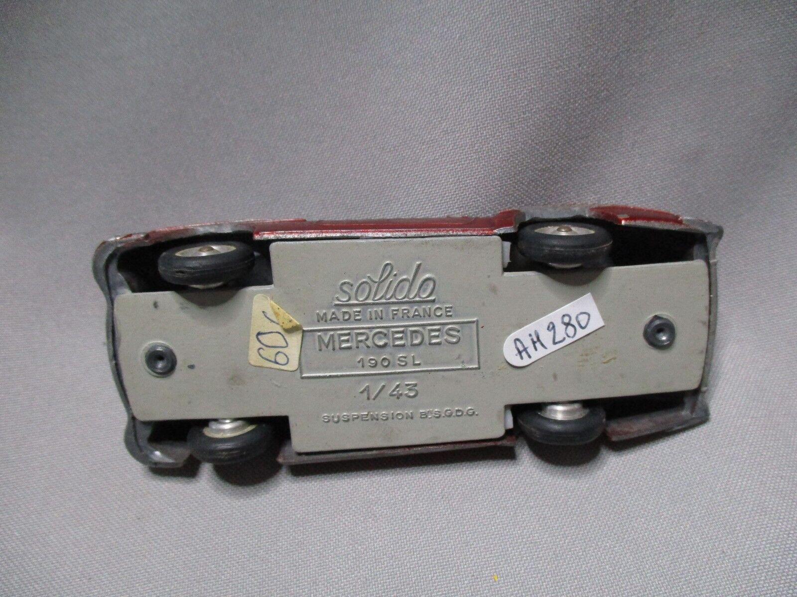 AH280 SOLIDO 1 43 MERCEDES MERCEDES MERCEDES 190 SL ref 105 1c1e63