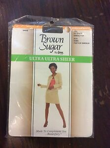 753be5d1c2e86 Leggs Brown Sugar Pantyhose Size Tall Ultra Sheer Control Top Solid ...