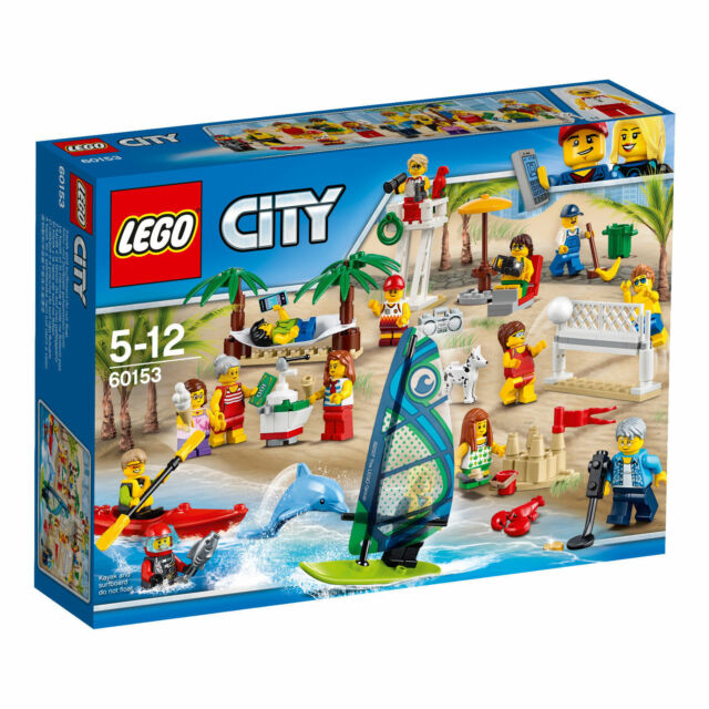 Lego City 60153 Town Fun in the Park People Pack Construction Set – a Day Am New