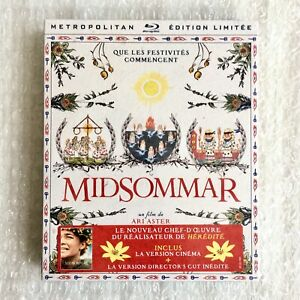 MIDSOMMAR-Limited-Edition-Digipack-2-Blu-Ray-Ari-Aster-New-amp-Sealed-Rare-OOP