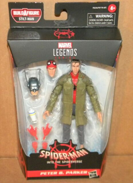 "Marvel Legends 6/"" Peter B Parker Spider-man Into The Spider-verse IN HAND New"
