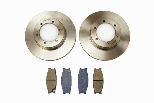 Plaquettes De Frein Pour Mitsubishi Canter FB631 2.8TD//FB634 3.0TD 98+ Disques De Frein Avant