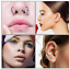32PCS-Nose-Hoop-Ring-Bone-Studs-Surgical-Steel-Straight-Bar-Lip-Ear-Piercing-20G thumbnail 4
