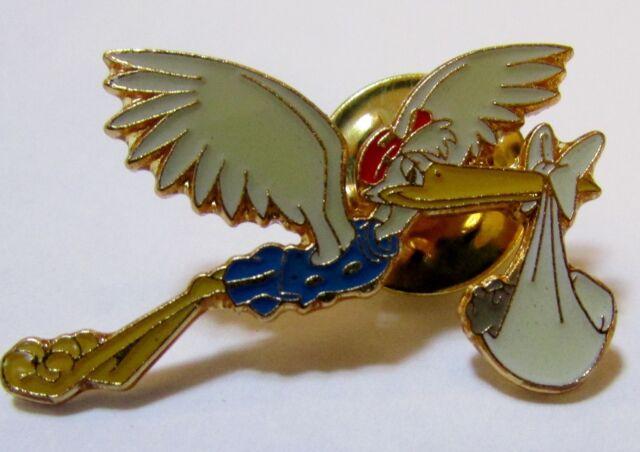 Disney Pin 5398 DS Dumbo 55th Anniversary Commemorative Stork & Baby Dumbo Pin