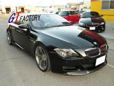 CARBON FRONT LIP SPOILER V STYLE FOR BMW E63 E64 M6 ONLY