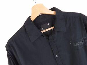jy3372-G-Star-Raw-Camicia-Maglietta-Originale-Cotone-Premium-con-colletto