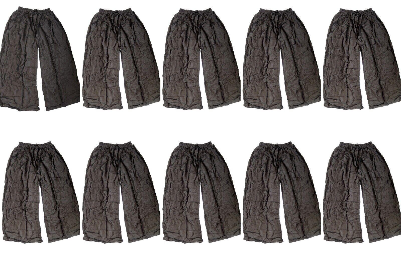 12 WHOLESALE LOT NDIA YOGA PANTS HAREM BELLY DANCING  EXERCISE PANTS SET OF 12
