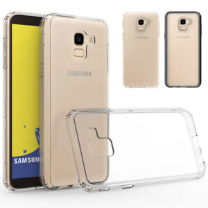 brand new c7214 68150 Details about For Samsung Galaxy J6 2018 Hybrid Soft TPU Shockproof Bumper  Clear Case Cover