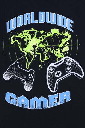 World Wide Gamer Short Cotton Boys Gaming Pyjamas