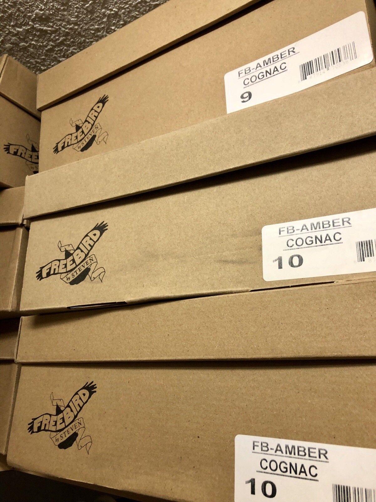 Freebird By Steven Bernstein Cognac Stiefel Neu in Box Box Box Sz9   9cad3c