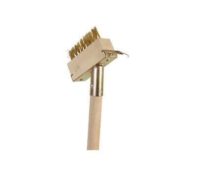 Stiel 120cm Fugenkratzer Fugenbürste Stahlbürste Unkraut Fugenreiniger